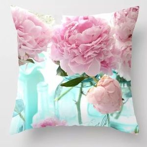 Other - Pillow Cover Pink Peonies
